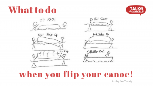 What to do when you flip your canoe